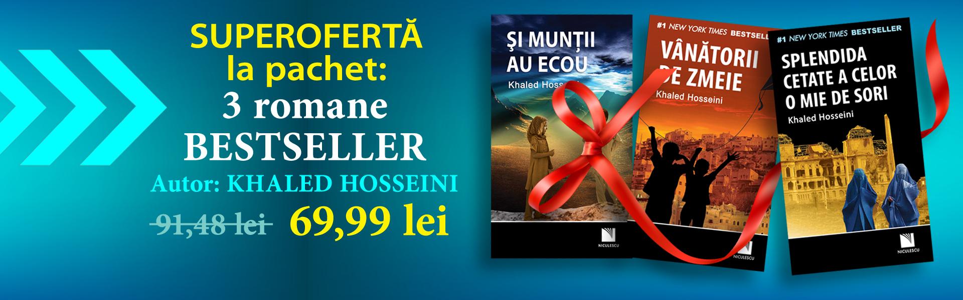 Pachet romane bestseller Khaled Hosseini