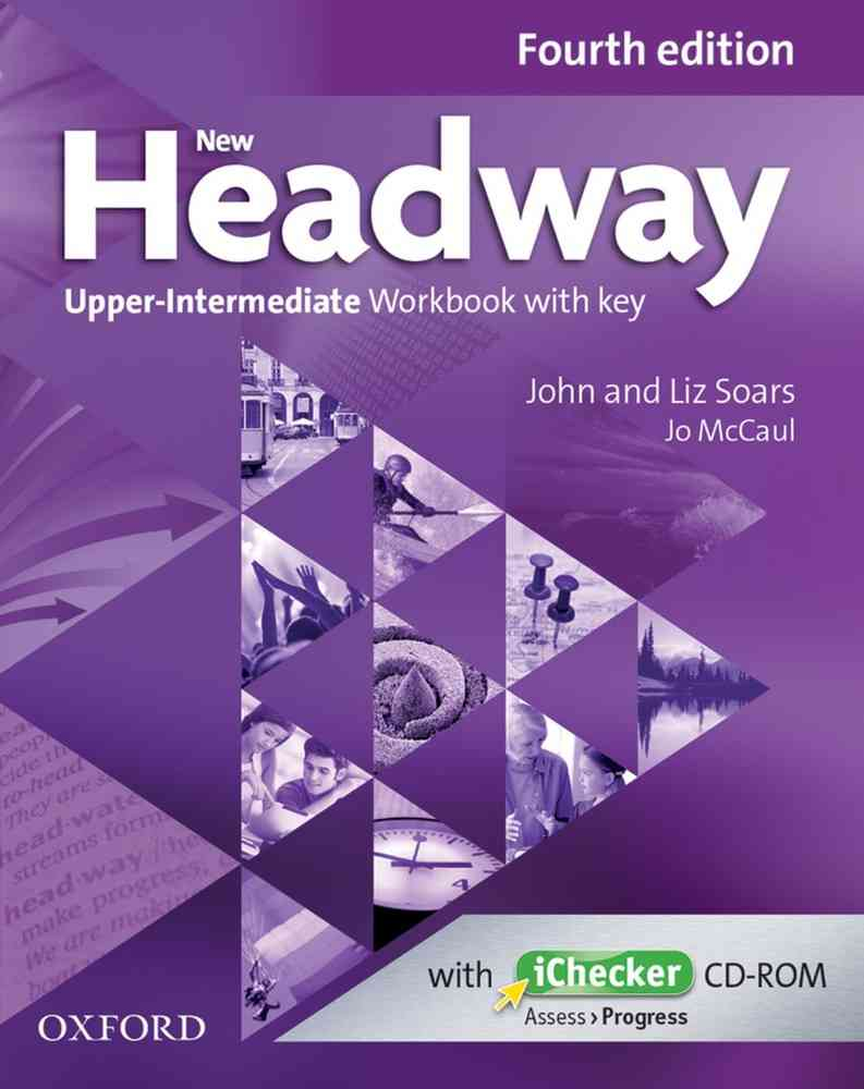 New Headway 4E Upper-Intermediate Workbook with Key image0