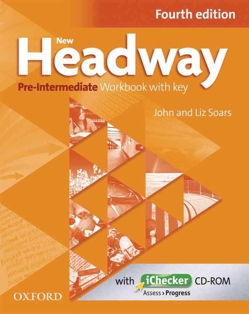 New Headway 4th Edition Pre-Intermediate Workbook With Key image0