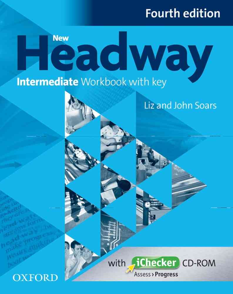 New Headway 4th Edition Intermediate Workbook With Key and iChecker CD Pack image0