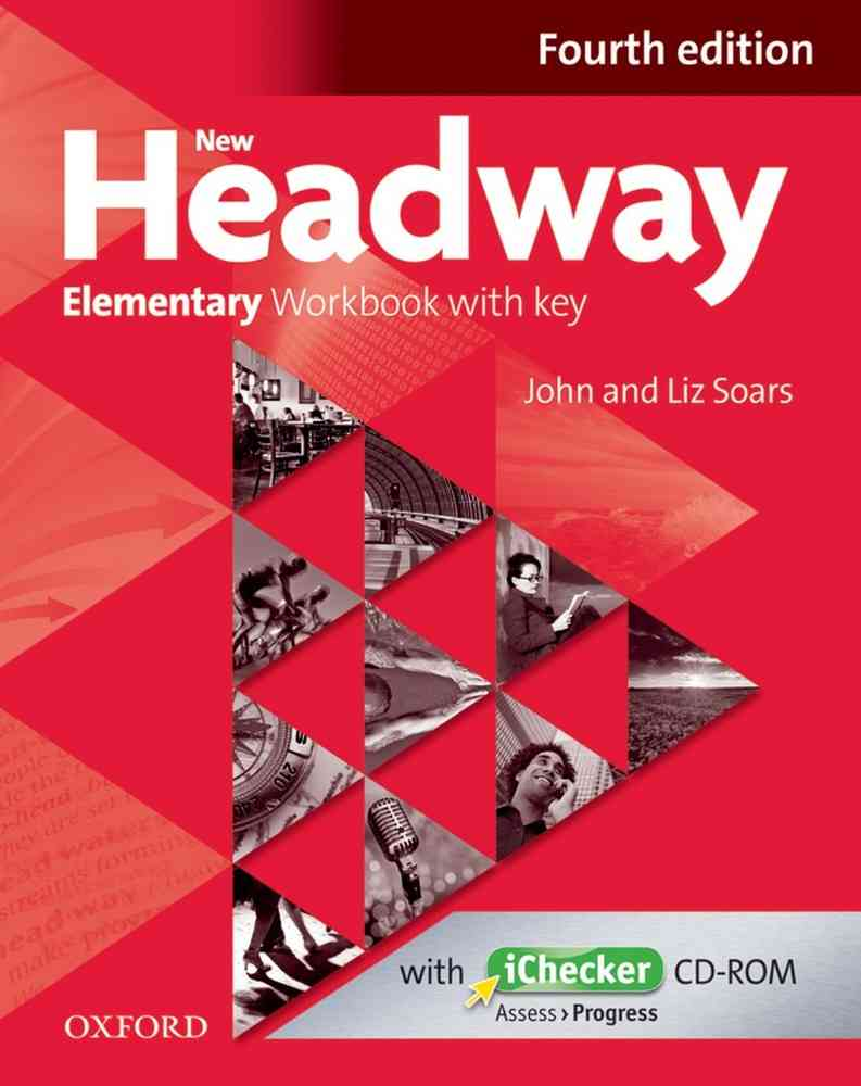 New Headway 4th Edition Elementary Workbook With Key  image0