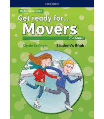 Get Ready For Movers 2E Students Book With Audio (Web) Pack Component