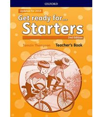 Get ready for Pre A1 Starters Teacher's Book and Classroom Presentation Tool- REDUCERE 50%