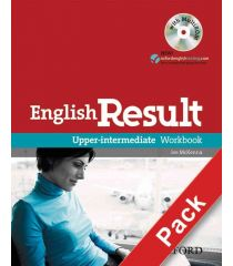 English Result Upper-Intermediate: Workbook with Answer Booklet and MultiROM Pack