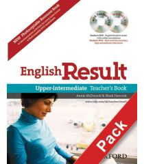 English Result Upper-Intermediate: Teacher's Resource Pack with DVD and Photocopiable Materials Book