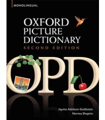 The Oxford Picture Dictionary 2nd Edition Monolingual English Edition