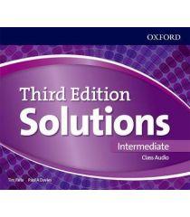 Solutions 3E Intermediate Class Audio CDs