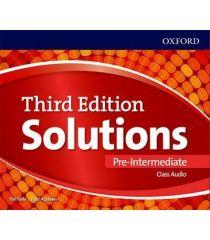 Solutions 3E Pre-Intermediate Class Audio CDs