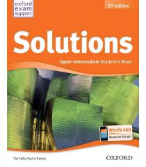 Solutions 2nd Edition Upper Intermediate: Student's Book