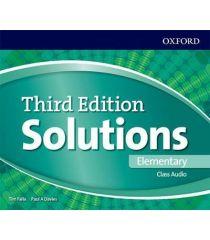 Solutions 3E Elementary Class Audio CDs