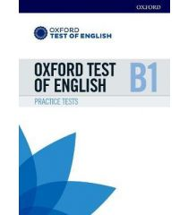 Oxford Test of English: B1: Practice Tests