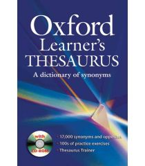 Oxford Learner's Thesaurus Pack (Book and CD-ROM)