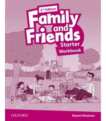 Family and Friends 2nd Edition: Starter Workbook