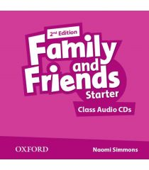 Family and Friends 2nd Edition: Starter Class Audio CD (2)