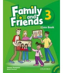 Family and Friends 3 Class Book-REDUCERE 35%
