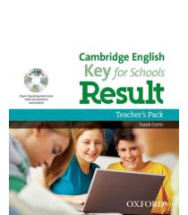 Cambridge English: Key for Schools Result Teacher's Pack