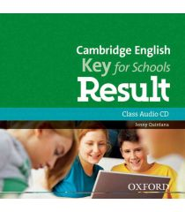 Cambridge English: Key for Schools Result Class Audio CD