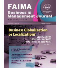 FAIMA Business & Management Journal – volume 7, issue 3, September 2019