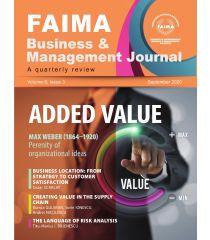 FAIMA Business & Management Journal – volume 8, issue 3, September 2020