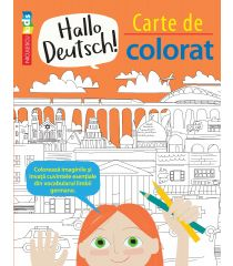 Hallo Deutsch! Carte de colorat