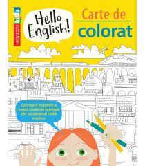 Hello English! Carte de colorat