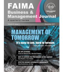 FAIMA Business & Management Journal – volume 5, issue 4, December 2017