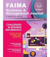 FAIMA Business & Management Journal – volume 6, issue 3, September 2018