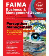 FAIMA Business & Management Journal – volume 6, issue 4, December 2014