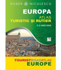 Europa. Atlas turistic şi rutier