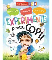 Experimente pentru copii: cercetează, verifică, descoperă