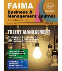 FAIMA Business & Management Journal – volume 3, issue 1, March 2015