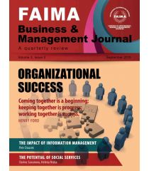 FAIMA Business & Management Journal – volume 3, issue 3, September 2015