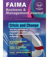 FAIMA Business & Management Journal – volume 4, issue 3 – September 2016