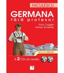 Germana fără profesor & 2 CD-uri audio. Metoda instant