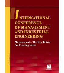 ICMIE 2015. Management - The Key Driver for Creating Value