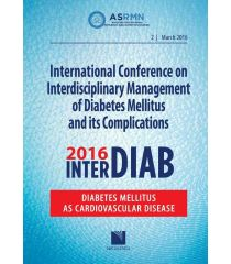International Conference on Interdisciplinary Management of Diabetes Mellitus and its Complications – INTERDIAB 2016 / Diabetes Mellitus as Cardiovascular Disease