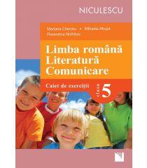 Limba română. Literatură. Comunicare. Clasa a V-a. Caiet de exerciţii (Cheroiu)
