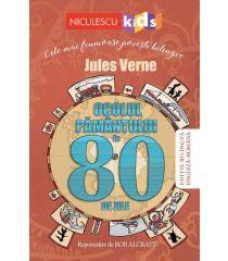 Ocolul Pamântului în 80 de zile (Ediţie bilingvă engleză-română)