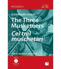 Cei trei mușchetari - Ediție bilingvă, Audiobook inclus