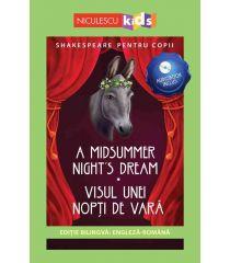 Shakespeare pentru copii: Visul unei nopți de vară (Ediție bilingvă, incl. Audiobook)