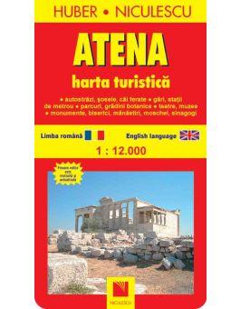 Atena Harta Turistică Si Rutieră