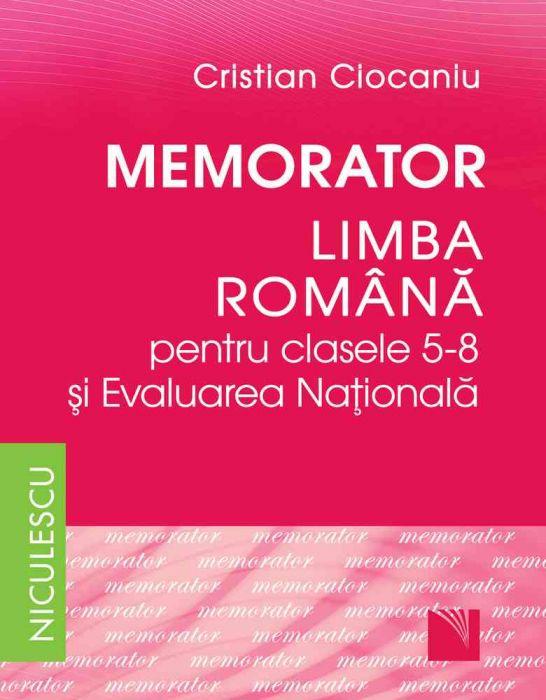 memorator limba romana clasele 5-8 pdf free