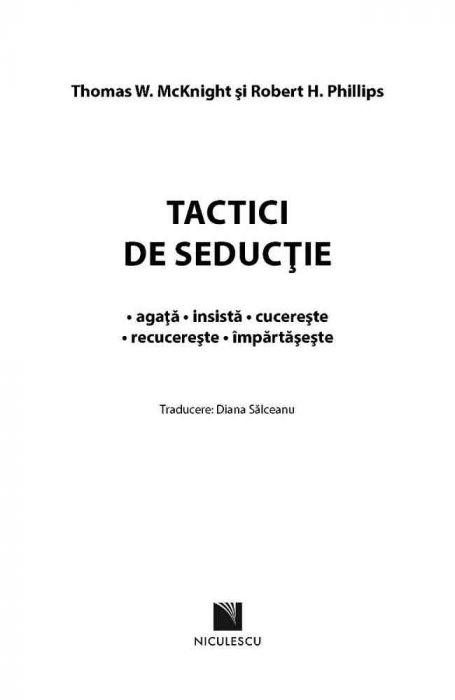 Tactici de seductie