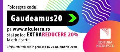Vino la GAUDEAMUS 2020 - cel mai mare târg de carte